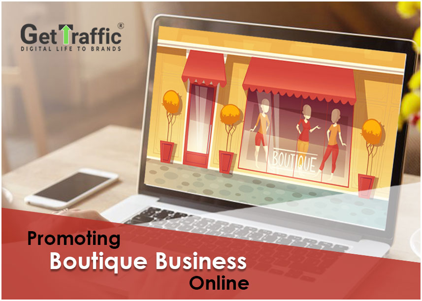 Promoting boutique business online
