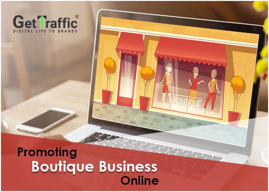 Promoting boutique business online